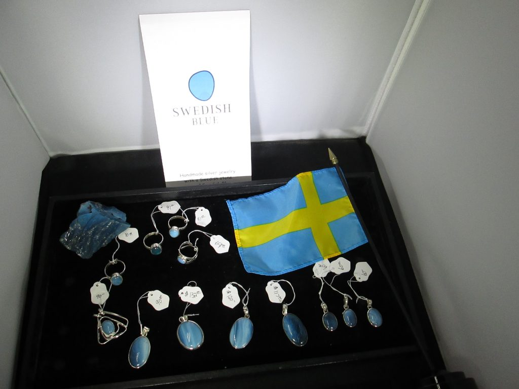 Swedish Blue Jewelry